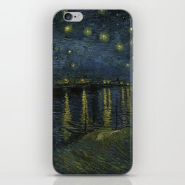 Starry Night over the Rhone iPhone Skin