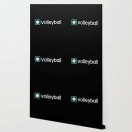 Volleyball (Blue) Wallpaper