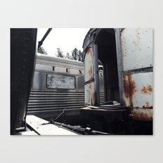 Tex's Train Canvas Print
