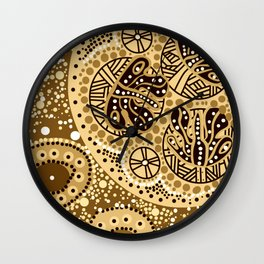 The Bogon Moths of the past, the present and the future Wall Clock