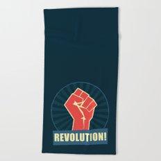 Revolution! Beach Towel