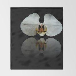 White Reflection Throw Blanket