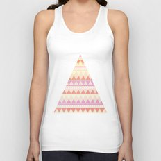 Summer Aztec Pattern Unisex Tank Top