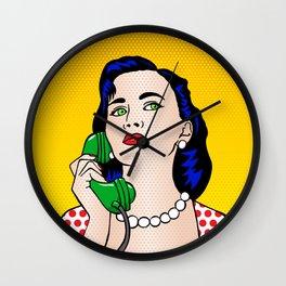 The Phone Call Wall Clock