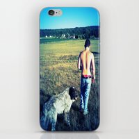 indiana iPhone & iPod Skins featuring Indiana by Peacockbutterfly  Art