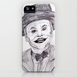 Jack Nicholson's Joker iPhone Case