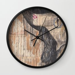 My Heart Stood Still Wall Clock