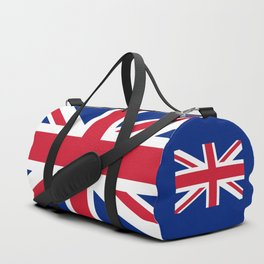 UK FLAG - Union Jack Authentic color and 3:5 scale  Duffle Bag