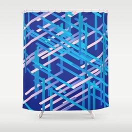 rectangle xyz 04 Shower Curtain