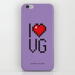 PAUSE – I Love Video Games iPhone Skin