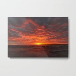 Morning Red  Metal Print
