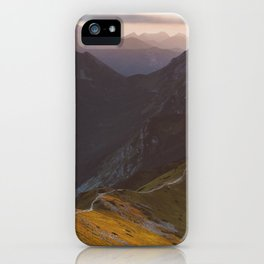 Before sunset - Landscape and Nature Photography iPhone Case