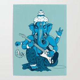 Ganesha rocks ! (v3) Poster