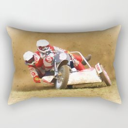 The race is on Rectangular Pillow