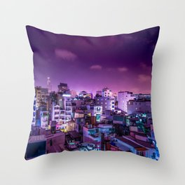 Oh Chi Minh City Throw Pillow