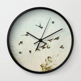 A Feeling of Change Wall Clock