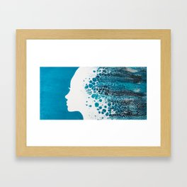 Ocean Goddess Framed Art Print