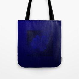 blue shamrock Tote Bag