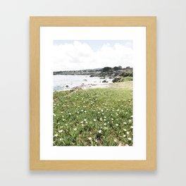 monterey california shore part two Framed Art Print
