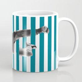 effet d'optique (optical illusion) Coffee Mug