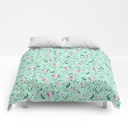 Cute Axolotls Comforters