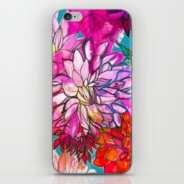 Garden of Dahlias iPhone Skin