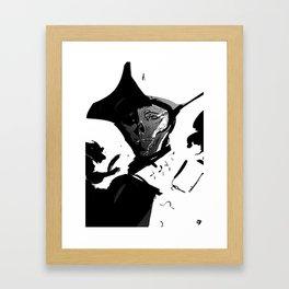 john hancock — duality Framed Art Print