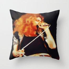 Ramble On (Robert Plant Painting) Throw Pillow