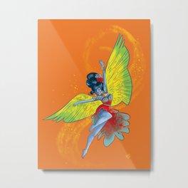 Colorful Flamenco Metal Print