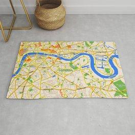 London Map design Rug