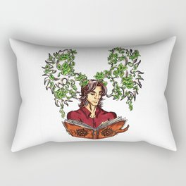 Supernatural Moose Rectangular Pillow
