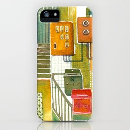 Tong Lau (Hong Kong Shop House) iPhone Case