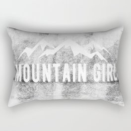 Mountain Girl Rectangular Pillow