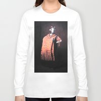 spanish Long Sleeve T-shirts featuring Spanish Goat by MollyK