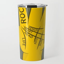 Palmistry Rock and Roll Travel Mug