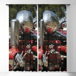 Old Fire Truck Blackout Curtain