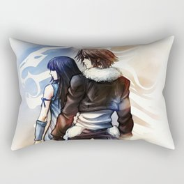 Squall and Rinoa - Griever Rectangular Pillow