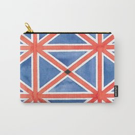 Union Flag Repeated Carry-All Pouch