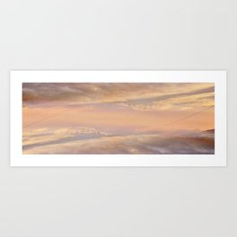 City in the Clouds Art Print