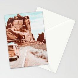 Retro Camper Boho Desert Stationery Cards