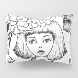 Ink Girl Design - 14.05.17 01 Pillow Sham