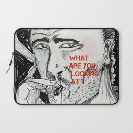 WHAT ARE YOU LOOKING AT? Laptop Sleeve