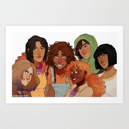 Unity in Diveristy Art Print