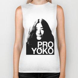 Pro Yoko Ono Biker Tank