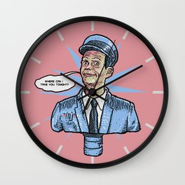 Johnny Cab - Total Recall Wall Clock