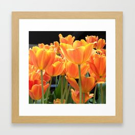 Tulip Forest Framed Art Print