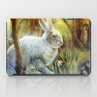 hare iPad Cases featuring Hare by Natalie Berman