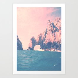 Summer in Cabo Art Print
