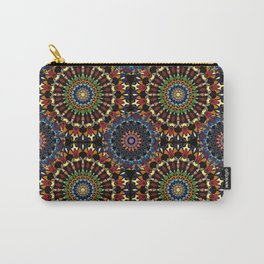 Stained Glass Mandalas Carry-All Pouch