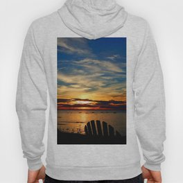 Peace and Relaxation at the Sea shore Hoody